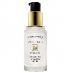 Max factor, facefinity all day primer, основа под макияж, бесцветная, 30 мл