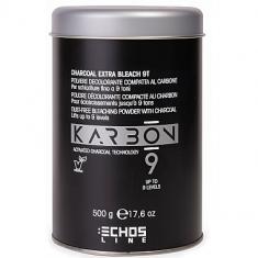 Echos line, karbon, обесцвечивающий угольный порошок для осветления до 9 тонов, 500 г ECHOSLINE