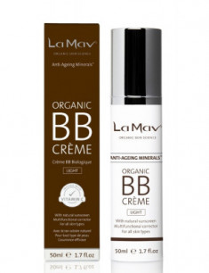 Антиэйдж BB крем La Mav Certified Organic BB Creme Light 50 мл
