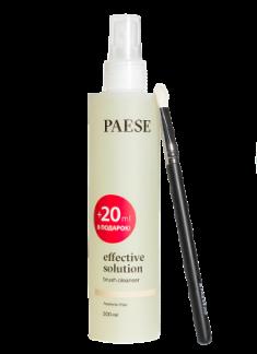 Жидкость для очищения кистей PAESE effective solution brush cleanser 200мл