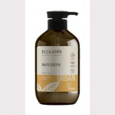 Ecolatier Urban Жидкое мыло для рук мандарин и мята 400 мл
