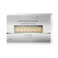 Лабо Кресцина 1700 для женщин лосьон против выпадения волос Усиленная формула флаконы по 3,5мл №10+10 Crescina