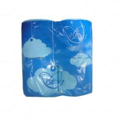 Lotti Бумага туалетная 2 слоя 4шт голубая