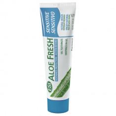 Esi Aloe Fresh Sensitive гелевая зубная паста крепкая мята 100мл