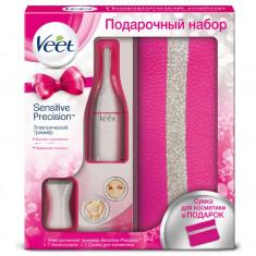 Veet Набор подарочный Электрический триммер + Косметичка в комплекте 7 аксессуаров