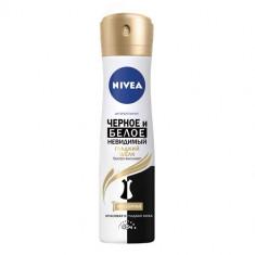 Nivea дезодорант спрей Гладкий шелк черное и белое невидимый 150мл