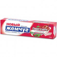 Новый жемчуг Зубная паста Гранат и мята + нежное отбеливание 100мл НОВЫЙ ЖЕМЧУГ
