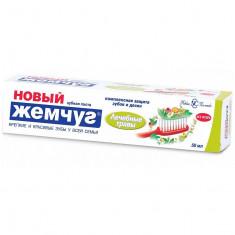 Новый жемчуг Зубная паста Лечебные травы 50мл НОВЫЙ ЖЕМЧУГ
