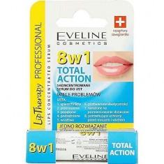 Бальзам для губ Tot Action 8 в 1 Lip Therapy EVELINE