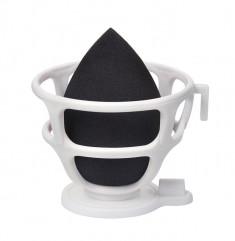 LIMONI Спонж для макияжа в наборе с корзинкой / Blender Makeup Sponge Black