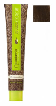 Краска для волос Macadamia Oil Cream Color 66.0 ТЕМНЫЙ ЭКСТРА ЯРКИЙ БЛОНДИН 100мл