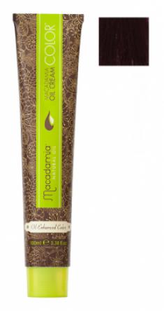 Краска для волос Macadamia Oil Cream Color 6.55 ЯРКИЙ КРАСНОЕ ДЕРЕВО ТЕМНО ТЕМНЫЙ БЛОНДИН 100мл