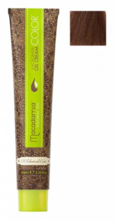Краска для волос Macadamia Oil Cream Color 7.77 ЭКСТРА СРЕДНИЙ ШОКОЛАДНЫЙ БЛОНДИН 100мл
