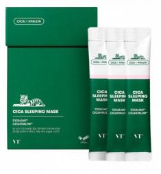 ночная маска для лица vt cosmetics cica moisture sleeping mask