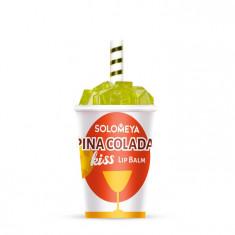 SOLOMEYA Бальзам для губ Пина колада / Lip Balm Pina Colada Kiss 7 г