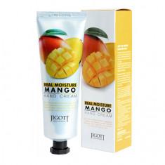 Jigott, Крем для рук Real Moisture Mango, 100 мл