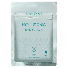 LIMONI Патчи для век увлажняющие с гиалуроновой кислотой / Hyaluronic Eye Patch 30 шт