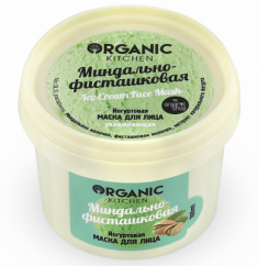 "Маска для лица йогуртовая Organic Kitchen ""Миндально-фисташковая"" 100мл"