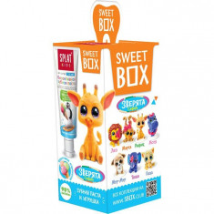 Splat Свит Бокс Зубная паста для детей 6-11лет Фруктовое мороженое+игрушка