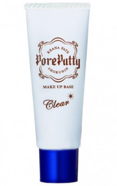 База под макияж выравнивающая Sana Pore putty make up base clear 25г